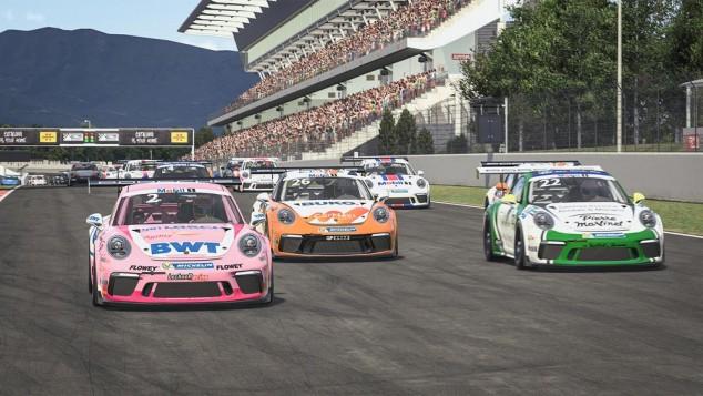 La Porsche Supercup virtual comienza con éxito en Barcelona - SoyMotor.com