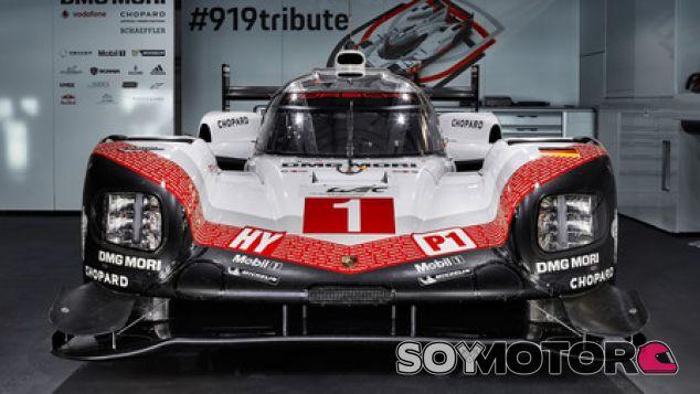 Porsche 919 Tribute - SoyMotor.com