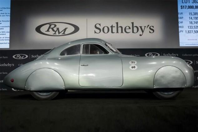 Porsche Type 64, o cómo una subasta estrella acabó en fiasco - SoyMotor.com