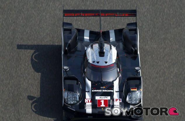 El Porsche #1 durante la carrera en Shanghai - LaF1