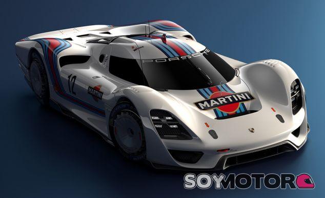 El Porsche 908/04 LH Vision GT incluye guiños al Mision E, el 919 Hybrid o el 918 Spyder - SoyMotor