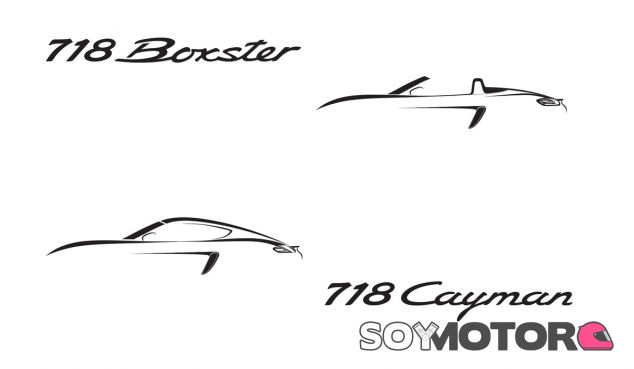 Logos e iconos de los nuevos 718 Boxter y 718 Cayman - SoyMotor