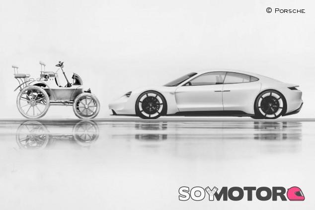 Por qué la historia eléctrica de Porsche no empieza con el Taycan - SoyMotor.com
