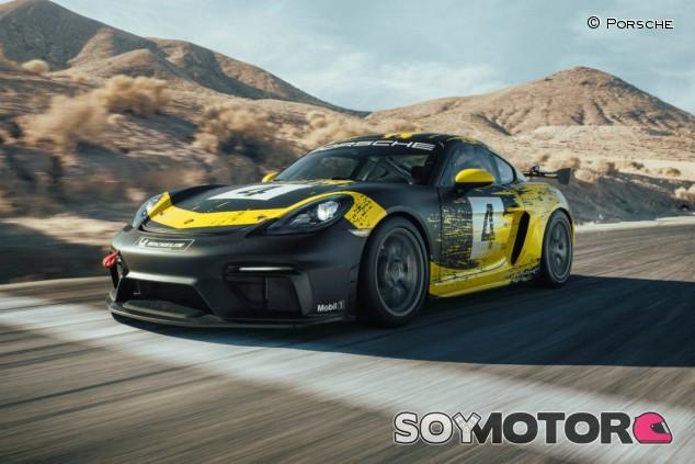 Porsche 718 Cayman GT4 Clubsport 2019 - SoyMotor.com
