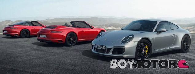 Gama Porsche 911 GTS 2017 - SoyMotor.com