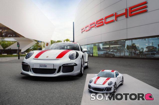 Una forma original de tener un Porsche 911 R es con un puzle 3D - SoyMotor