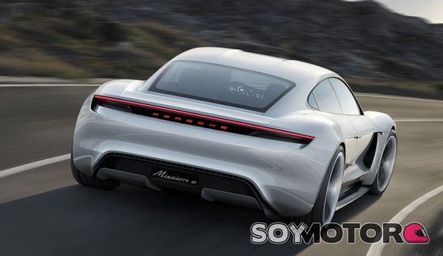 El Porsche Mission E será el primer vehículo 100% eléctrico de la firma de Stuttgart - SoyMotor