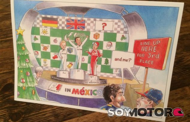 Postal de Bernie Ecclestone en 2016 - SoyMotor