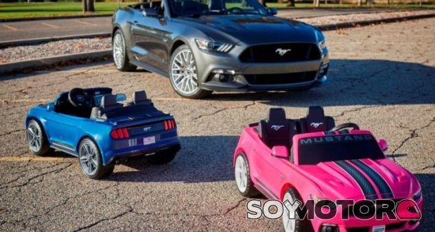 Correpasillos ford mustang con esp y control tracción - SoyMotor