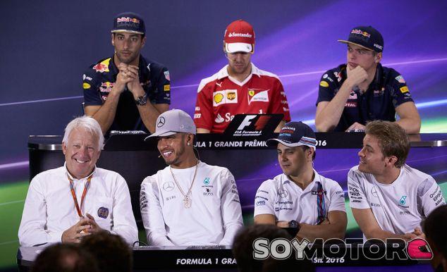 Rueda de prensa del GP de Brasil F1 2016: Jueves
