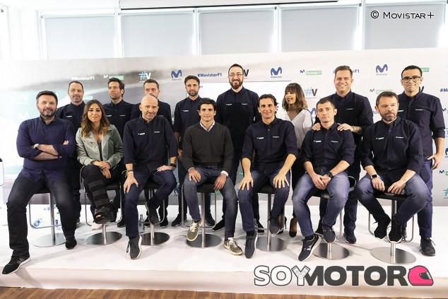 Movistar+ F1 presenta su equipo para 2019, con Lobato y Rosaleny - SoyMotor.com