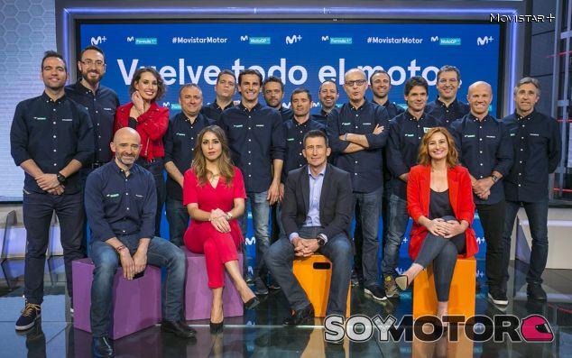 Movistar+F1 presenta su equipo para 2018 - SoyMotor.com
