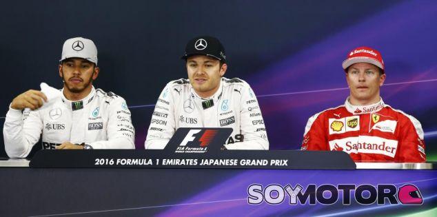 Rueda de prensa del GP de Japón F1 2016: Sábado - SoyMotor.com