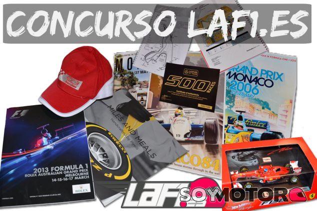 PREMIADOS: Contesta una pregunta y gana un Ferrari F138 1/43 y mucho más