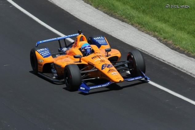 Fernando Alonso en las 500 Millas de Indianápolis 2019 - SoyMotor