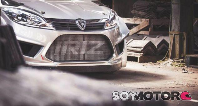 Frontal del Proton Iriz R5 ©ChicaneMedia – SoyMotor.com