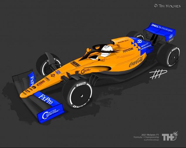 Tim Holmes 'viste' el prototipo de 2021 con los colores de 2019 - SoyMotor.com
