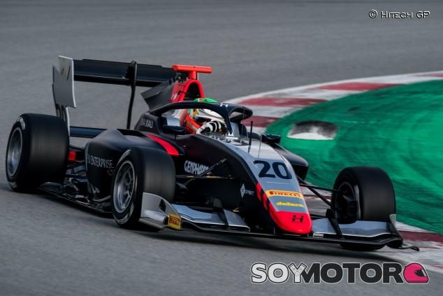 Pulcini no da opción en la última jornada de test en Barcelona - SoyMotor.com