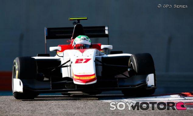 Leo Pulcini con Campos Racing en los test post-temporada 2017 – SoyMotor.com