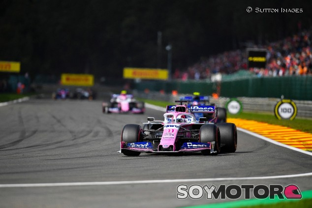 Sergio Pérez en el GP de Bélgica F1 2019 - SoyMotor