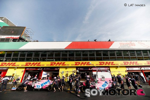 Coches de Racing Point en el GP de la Toscana F1 2020 - SoyMotor.com