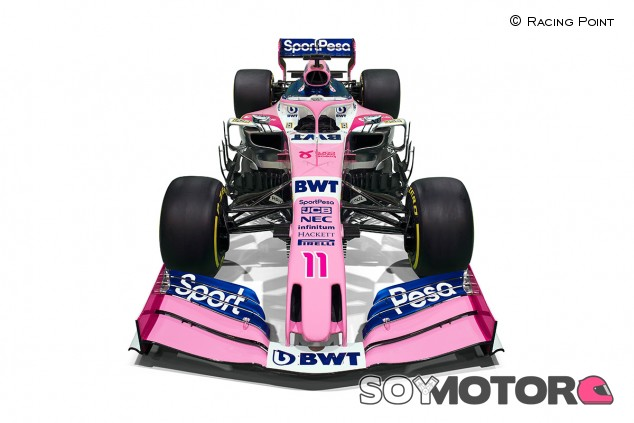 Racing Point presenta su coche de 2019 - SoyMotor