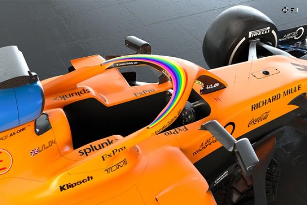 La F1 lanza una campaña multicausa; los coches 2020 lucirán un logo arcoíris - SoyMotor.com