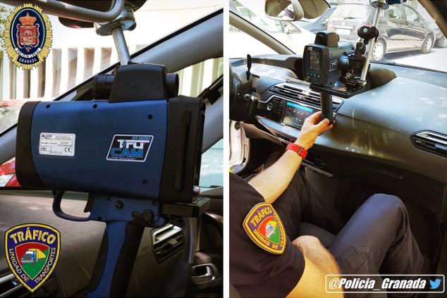 La policía de Granada 'se arma' contra los excesos de velocidad - SoyMotor.com
