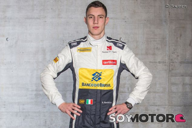 Raffaele Marciello posa como piloto de Sauber - LaF1.es
