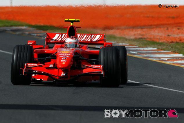 Kimi Räikkönen en el Gran Premio de Australia de 2007 - LaF1