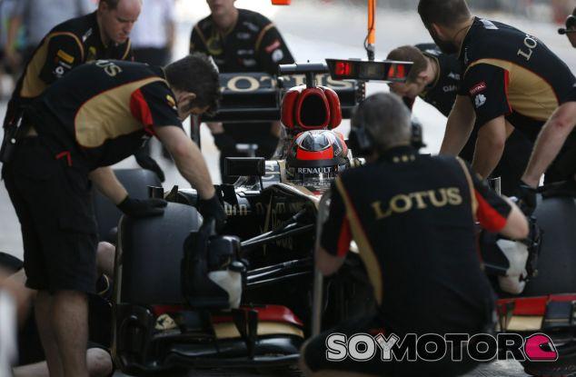 Kimi Räikkönen en el Lotus E21 - LaF1