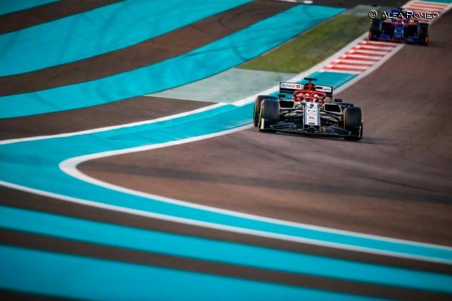 Alfa Romeo en el GP de Abu Dabi F1 2019: Domingo - SoyMotor.com
