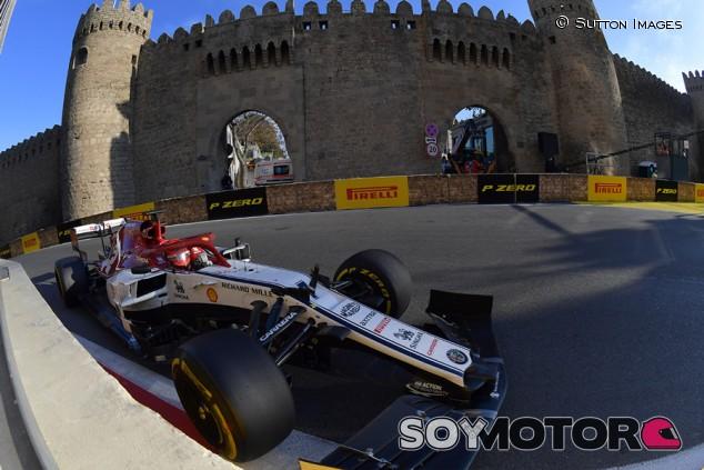 Alfa Romeo en el GP de Azerbaiyán F1 2019: Domingo - SoyMotor.com