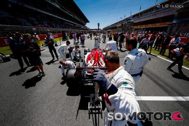 Alfa Romeo en el GP de España F1 2019: Domingo - SoyMotor.com