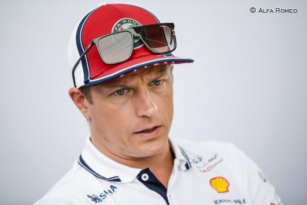 Raikkönen sufrió un esguince en el parón, pero correrá en Spa - SoyMotor.com
