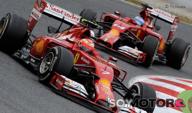 Räikkönen, molesto con su estrategia en el GP de España