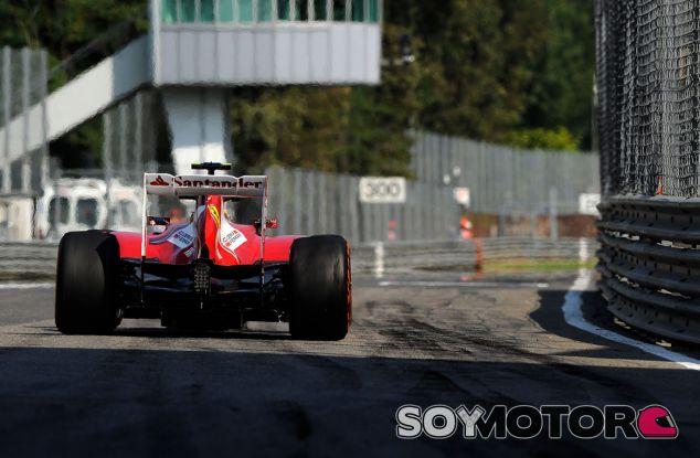 F138 de Felipe Massa en el pasado Gran Premio de Italia - LaF1