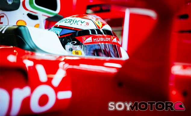 Kimi Räikkönen en Barcelona - LaF1