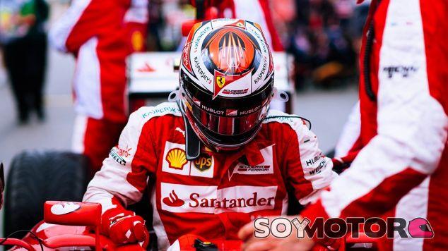 Räikkönen salvó una salida de pista, pero al final tuvo que abandonar - LaF1