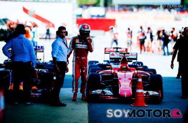 Kimi Räikkönen tras la carrera del GP de España - LaF1