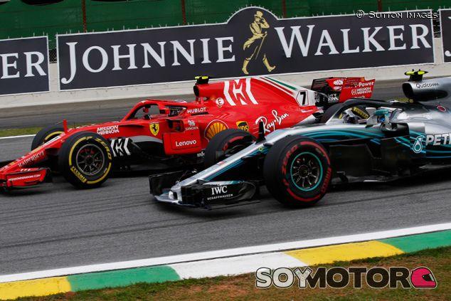 Kimi Räikkönen y Valtteri Bottas en Interlagos - SoyMotor.com