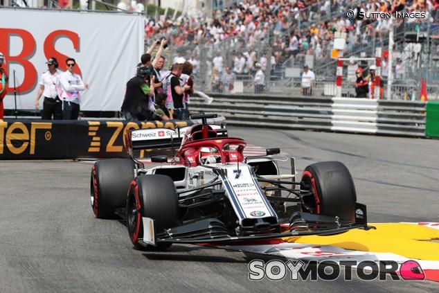 Kimi Räikkönen en el GP de Mónaco F1 2019 - SoyMotor