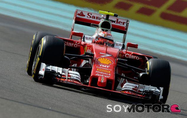 Kimi Räikkönen en Abu Dabi - SoyMotor