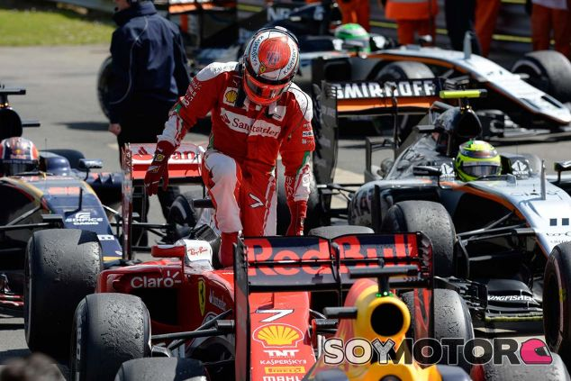 Kimi Räikkönen en Silverstone - LaF1