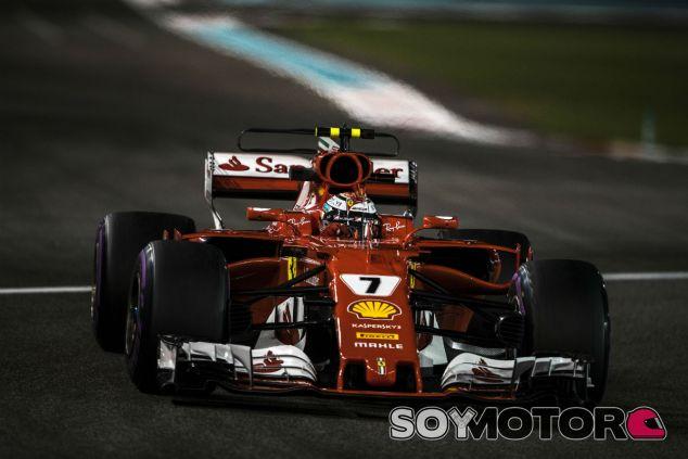 Räikkönen en Abu Dabi - SoyMotor.com