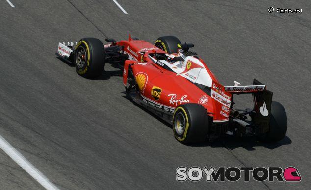 Kimi Räikkönen en Alemania - laF1