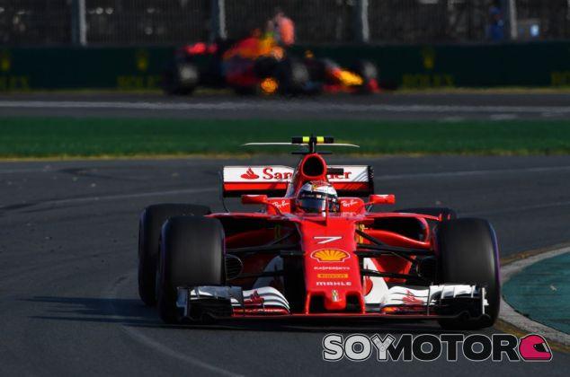 Räikkönen terminó en cuarta posición - SoyMotor