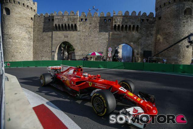 Ferrari en el GP de Azerbaiyán F1 2017: Sábado - SoyMotor.com