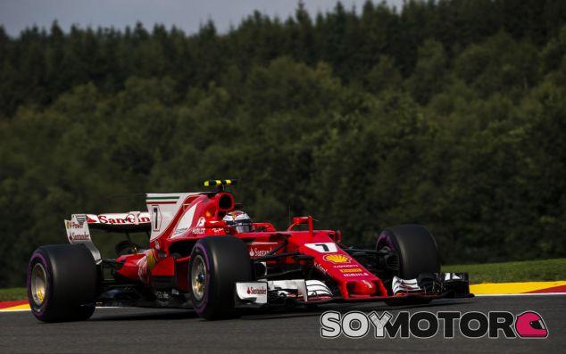 Räikkönen en Spa - SoyMotor.com