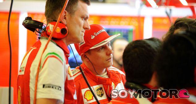 Räikkonen culpa a la configuración del F14T de su falta de ritmo